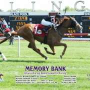 Dare To Dream Stable Horse Racing Partnership's Memory Bank wins at Arlington Park on May 27, 2018 in race #4