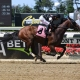 She's Not Bluffing wins at Belmont Park on June 9, 2019