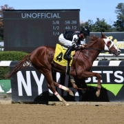 Hold My Call wins at Belmont Park on 10/05/19 in race 2