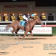 Rainbow Warrior Wins at Penn National Race Course on 10/12/19 in race 8
